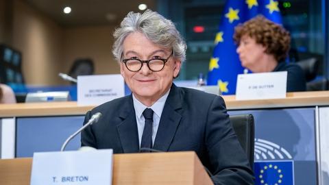 I sidste uge meddelte EU-kommissær for det indre marked Thierry Breton, at EU ikke er interesseret i Sputnik V. Foto: European Parliament, Flickr