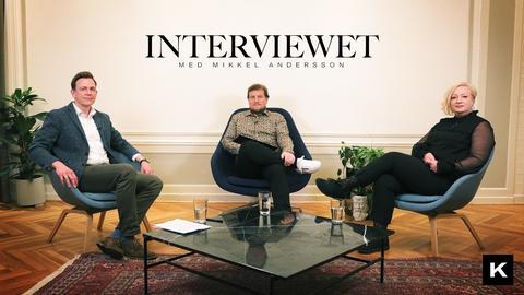 Rasmus Stoklund møder Lisbeth Trinskjær, Højskolerne i Interviewet med Mikkel Andersson