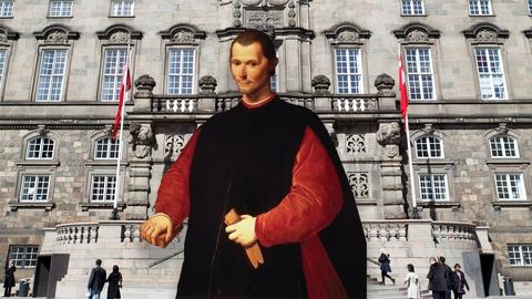 Den florentinske forfatter Niccolò Machiavelli (1469-1527) har med sit hovedværk 'Fyrsten' præget politisk teori og filosofi gennem fem århundreder. (Illustration: Folketinget / Santo di Tito via Wikimedia Commons)