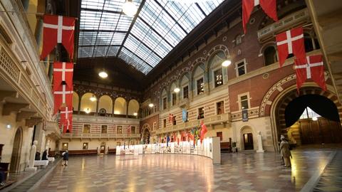 Københavns Rådhus indefra. Foto: Jorge Láscar/Creative Commons