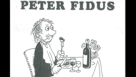 Peter Fidus hed på svensk Max Svensson Lurifax og udkom på Gidlund i 1972. Den efterfølgende danske udgave udkom på Børnebogsforlaget Hanegal (!).