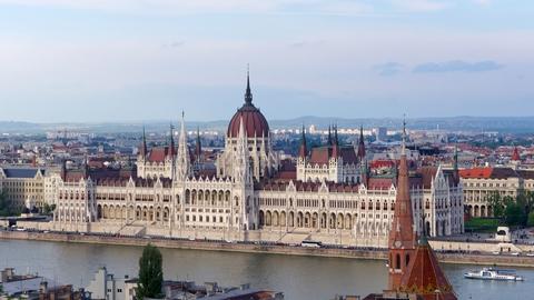 Det ungarske parlament, Budapest. (Foto: Jakub Hałun / Creative Commons)