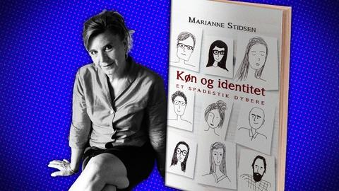 'Køn og identitet – et spadestik dybere' er udkommet 17. september på forlaget Hovedland, 311 sider. Fotos fra forlaget.