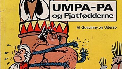 Hæfterne om rødhuden Umpa-pa var en trøst og støtte i Preben Pryglers barndom fuld af kedelige og hellige kulturprodukter. Serien var oprindelig fransk og hed Oumpah-pah le Peau-Rouge.
