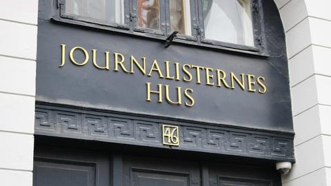 Journalisternes Hus, Gammel Strand i København (Foto: Finn Årup Nielsen via Creative Commons)