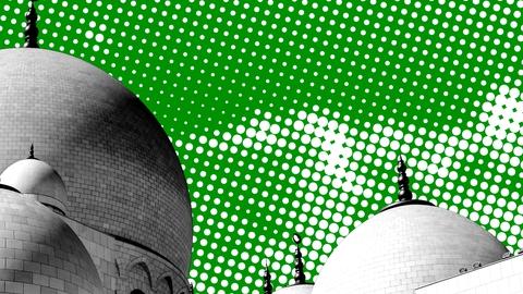 Kontrast.dk - Islam temauge billede som viser Moskéer.