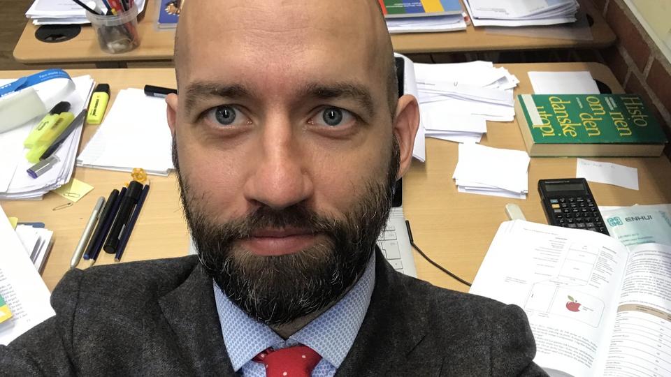 Gymnasielærer Stefan Agger om GL, udlændingepolitik