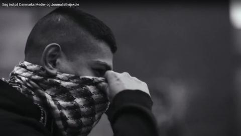 Screenshot fra DMJX-reklamefilm, udgivet (og tilbagekaldt) i 2017.