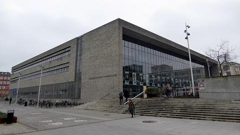 Her på Frederiksberg Gymnasium er 43 procent af eleverne indvandrere eller efterkommere. (Foto: Leif Jørgensen / Wikimedia Commons)